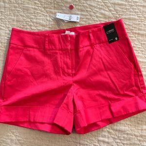 NWT Hot Pink NY&Co Sateen Shorts
